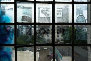 Historisches Werbefoto einer Seifenfabrik