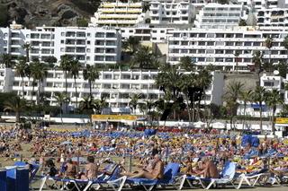 Badestrand von Gran Canaria, Kanaren, Spanien