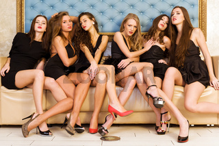 Group portrait of models