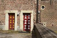 Wasserschloss Raesfeld - Türen und Mauer