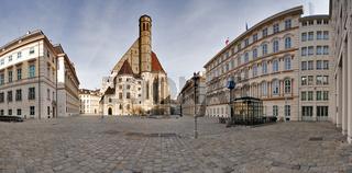Minoritenkirche (Maria Schnee) am Minoritenplatz innere Stadt, Wien, Österreich, Europa - Minoritenchurch (Maria Schnee) on the Minoritenplace inner city, Vienna, Europe