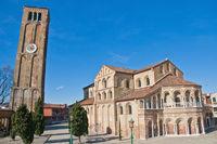 Santa Maria e Donato Church at Murano Island, Italy