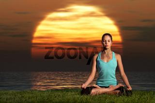 Yogi sunrise.