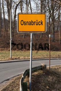 Ein Osnabrück Schild
