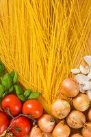 Italienische Pasta - Spaghetti