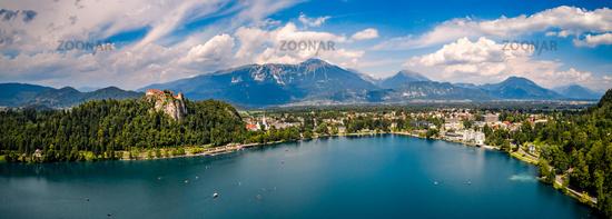 Slovenia - Panorama resort Lake Bled.