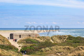 People who walk out to the tip of Skagen
