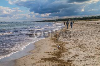 Nordstrand bei Prerow, Ostsee, Halbinsel Fischland-Darss-Zingst
