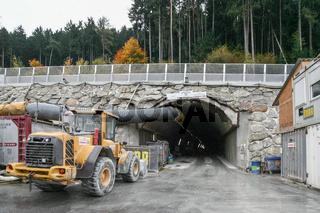 Tunnelbaustelle Brenner-Basistunnel