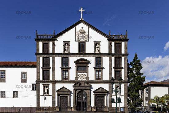 Funchal - Jesuitenschule und Kirche - Madeira