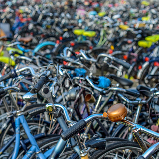 Netherlands Bikes Background