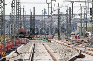 Baumassnahmen zum Anschluss des Knoten Leipzig an die VDE8