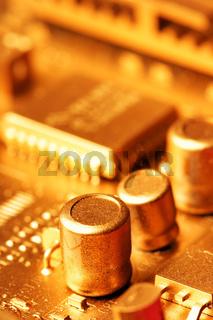 Gold circuit board
