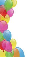 Einladung - Ballons