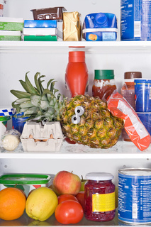 pineapple in fridge