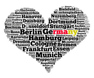 Localities in Germany