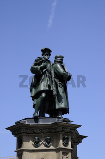 Gutenbergdenkmal in Frankfurt