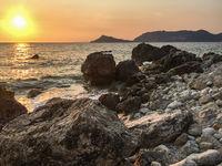 Agios Georgios Pagon, Korfu, Griechenland