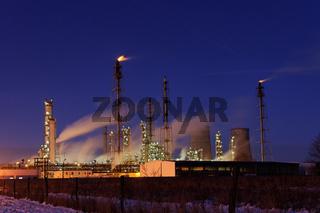Leuna Werke - TOTAL Raffinerie Mitteldeutschland