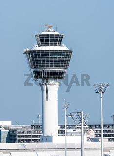 Control tower of the Munich airport