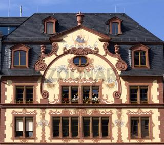 Fassade, Mainz, Rheinland-Pfalz, Deutschland