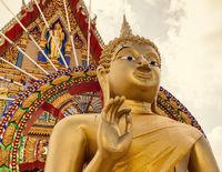 Buddha im Sonnenlicht