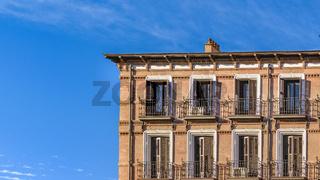 Madrid Architecture Background