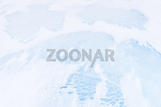 Eisstrukturen, Vistasdalen, Lappland