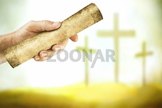 The message from the cross