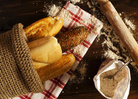 Fresh Bread and Baguettes