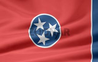 Flagge von Tennessee - USA