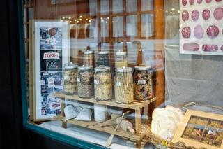 Pasta-Geschäft in Italien