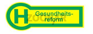 Haltestelle Gesundheitsreform