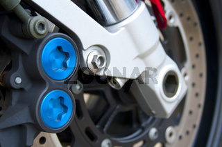 Motorcycle braking system
