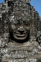 Bodhisattva-Kopf im Bayon Tempel, Angkor Wat