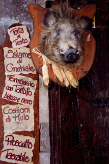 Italian delicatessen entrance