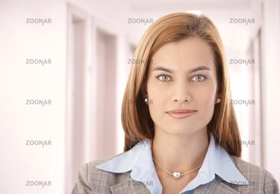 Portrait of beautiful businesswoman smiling