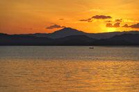 Fisherman sunset, Costa Rica