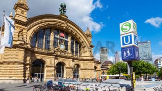Frankfurt am Main, Hauptbahnhof - 13. Juli 2017