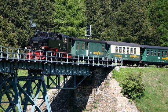 Viadukt in Oberwiesenthal