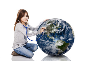 Checking the planet health
