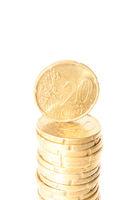 20 cent Stapel