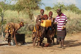 Hamer, Äthiopien, Afrika