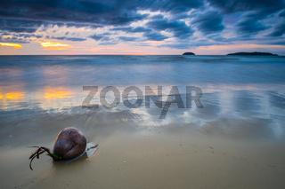Tanjung Aru Beach Sunset