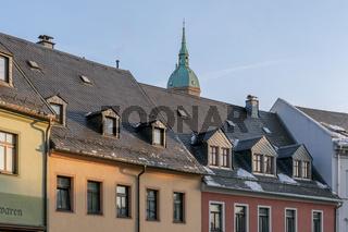 Dachansicht in Annaberg-Buchholz