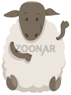sheep cartoon farm animal