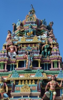 Mauritius , Hindu , Tamil Tempel
