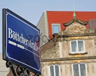 Wegweiser zur Böttcherstraße, Bremen