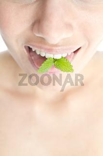 Mint on Tongue