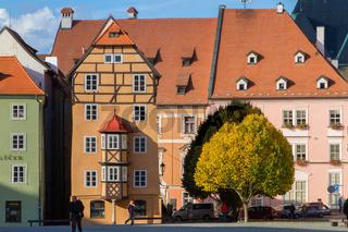 Cheb, Tschechische Republik, das Egerer Stoeckl